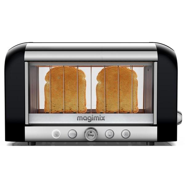 Magimix Vision Toaster Rostfritt Stål Svart - brödrostar
