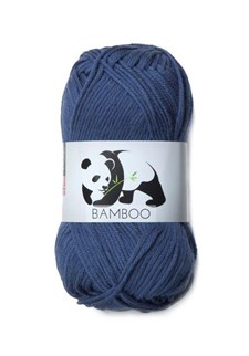 Viking of Norway Bamboo Garn Bomullsmix 50g Mörkblå 627