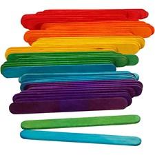 Jäätelötikut, pit. 9 cm, lev. 10 mm, 1000 kpl, koivu