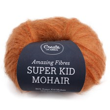 Adlibris Super Kid Mohair 25g Rusty Orange A569