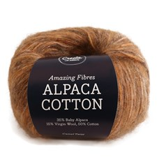 Adlibris Alpaca Cotton 50g Camel Twist A684