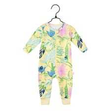 Pyjamas Paradis, Gul, strl 80, Mumin