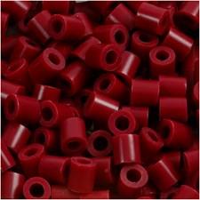Rörpärlor 5x5 mm 6000 st Vinröd (4)
