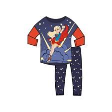 Pyjamas, Marinblå/röd, DC Super Hero Girls