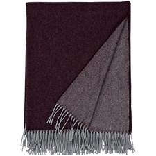 GANT Home Mere Pläd Merinoull/Cashmere 130x180 cm Potent Purple