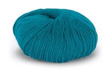 Du store Alpacka Sterk Garn Ullmix 50 g Mörk Turquoise 844