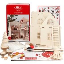 Materialsett til julenissehuset