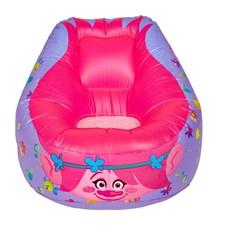 Oppblåsbar stol, Poppy, Trolls