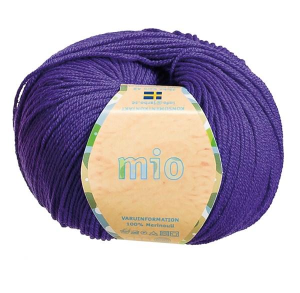 Mio Garn Merinoull 50g Signalviolett (30214)