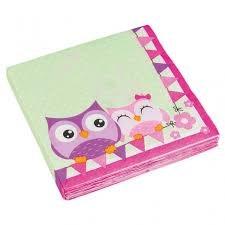 Happy Owl, Servietter, 20 stk.