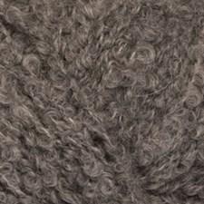 Drops Alpaca Bouclé Mix Garn Alapackamix 50g Grey 0517