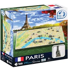 Stadspussel 4D Mini Paris