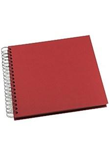 Fotoalbum GRIEG Design middels stort 40 sider rød