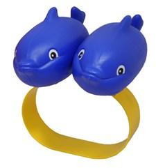 Svømmehjelp Delfin Blå, Plasto