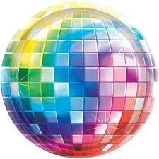 Disco Fever 70`s tallrikar, 8 st