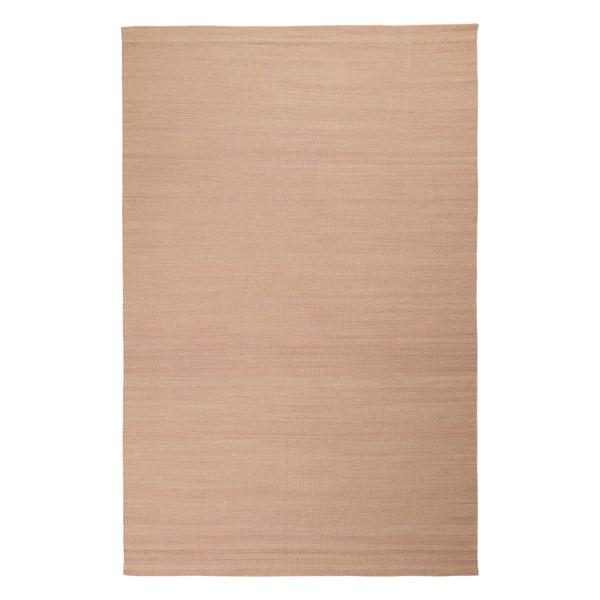 Inget (Storm) Linum Triveso Matta 100% Ull 200 x 300 cm Misty Grey Pink