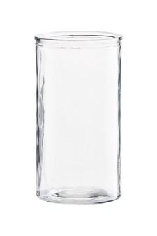 Vase, Cylinder, H 24 cm, Klar, House Doctor
