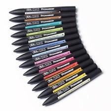 Markerpenna Winsor & Newton ProMarker Set 2 12 Färger