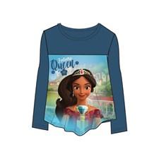 Långärmad tröja, Mörkblå, Disney Elena från Avalor