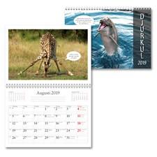 Väggkalender 2019 Burde Djurkul
