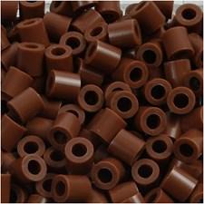 Putkihelmet, koko 5x5 mm, aukon koko 2,5 mm, 1100 kpl, suklaanruskea (27)