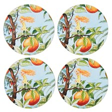 Elsa Beskow Collection Glasunderlägg Solägget 10 cm 4-pack