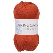Bambino Garn Bomullsmix 50g Rost 452 Viking Garn