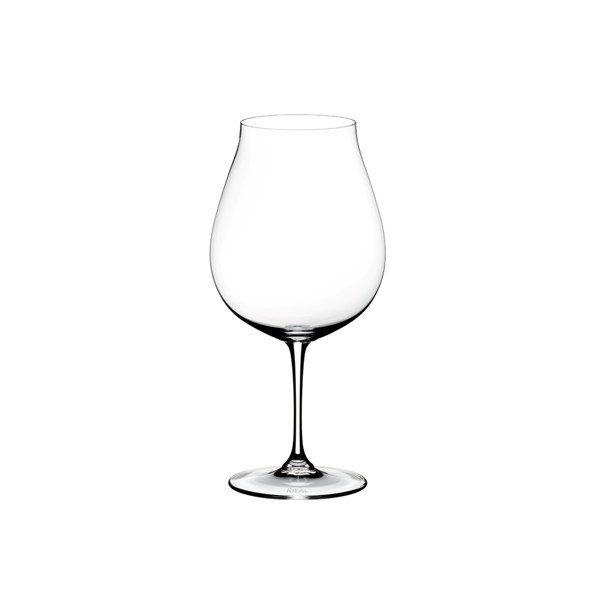 Riedel New World Pinot svart Vinglas 2-pack 80 cl Klar (klar)