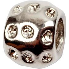 Korunosa, koko 8x10 mm, aukon koko 4 mm, 3 kpl, antiikkihopean väris