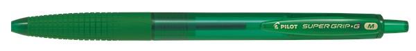 Kulspetspenna, SUPER GRIP G Klickmek. Medium, Grön
