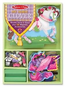 Kle på hesten Clover, Magnetic Dress-Up, Melissa & Doug