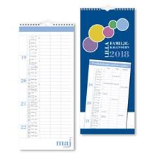 Väggkalender 2018 Burde Lilla Familjekalendern