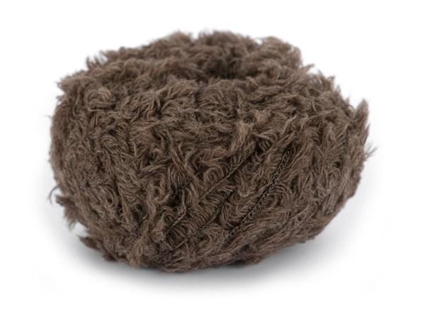 Dale Garn Pure Eco Fur Økologisk Ullmix 50 g Brun Melert 1107