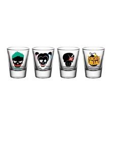 Suicide Squad Shotglass 4 stk.
