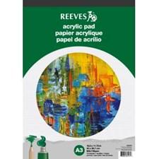 Ritblock för Akrylfärg A3 15 Ark Reeves