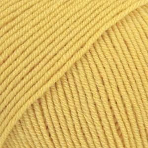 Drops Baby Merino Uni Colour Garn Ullgarn 50g Lemon Punch 45