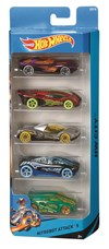 5-pack bilar, Hot Wheels