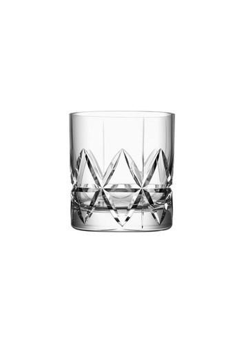 Orrefors Peak Fashioned Whiskeyglas 4-pack 26 cl klar (klar)