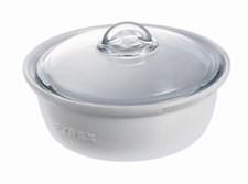 Pyrex Pata Lasikannella 2.5 L Valkoinen