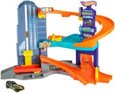 Speedtropolis Track Set, Hot Wheels