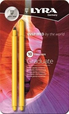 Lyra Graduate Fineliner 10-pack