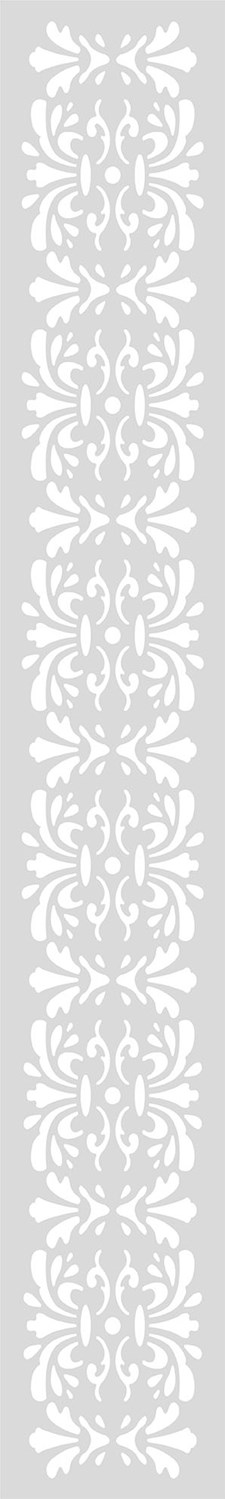 Schablon Lång 10,5x70 cm Ornamenterad Bård