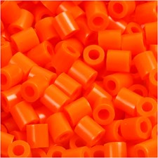 Putkihelmet, koko 5x5 mm, aukon koko 2,5 mm, 6000 kpl, kirkas oranssi (13)