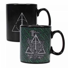 Harry Potter Deathly Hallows Värmekänslig Mugg