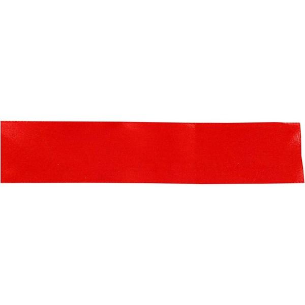 Sidenband 38 mm x 3 m Röd