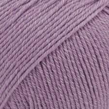 Drops Cotton Merino Uni Colour Garn Ullmix 50g Lavender 23
