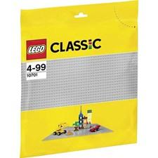 Harmaa rakennuslevy, Lego Klossar (10701)