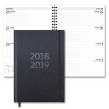 Kalender 18-19 Burde Senator A5 Ariane, svart