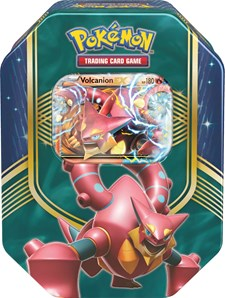 Poke Tin Box 2016 Fall, Volcanion, Pokémon