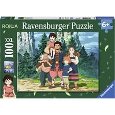 Ronja Rövardotter, Pussel 100 bitar, Ravensburger